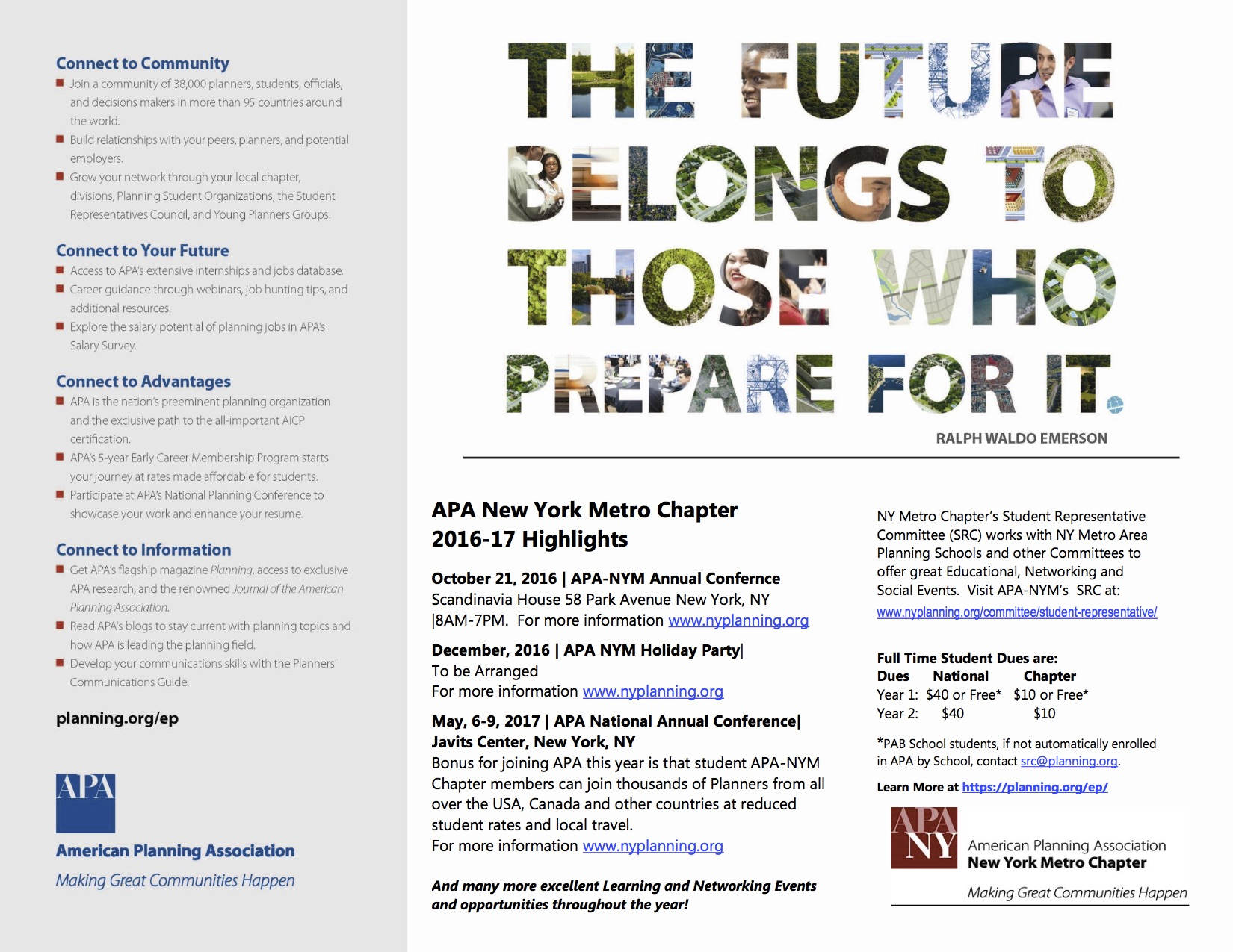 Discover Apa Nym Resources For New Planners And Graduate Students In