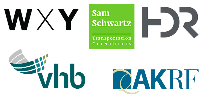 Sponsors 2017: WXY | Sam Schwartz | HDR | VHB | AKRF